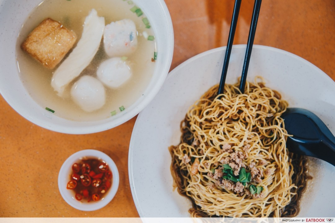 old-school hawkers - fish boss noodles