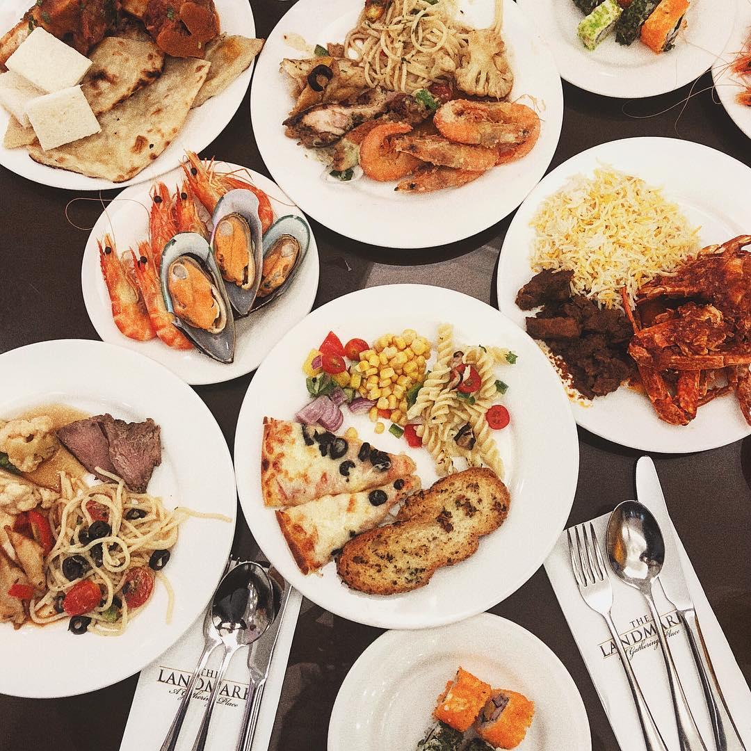 halal buffet- the landmark