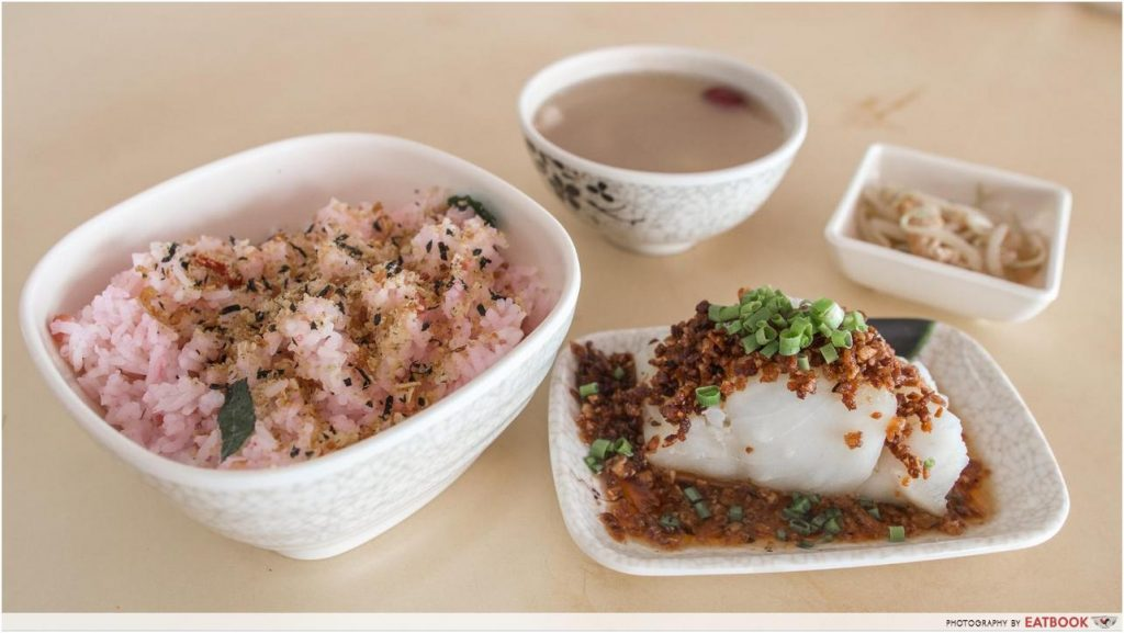 Atas Hawker Food Under $8 - Plum and Rice