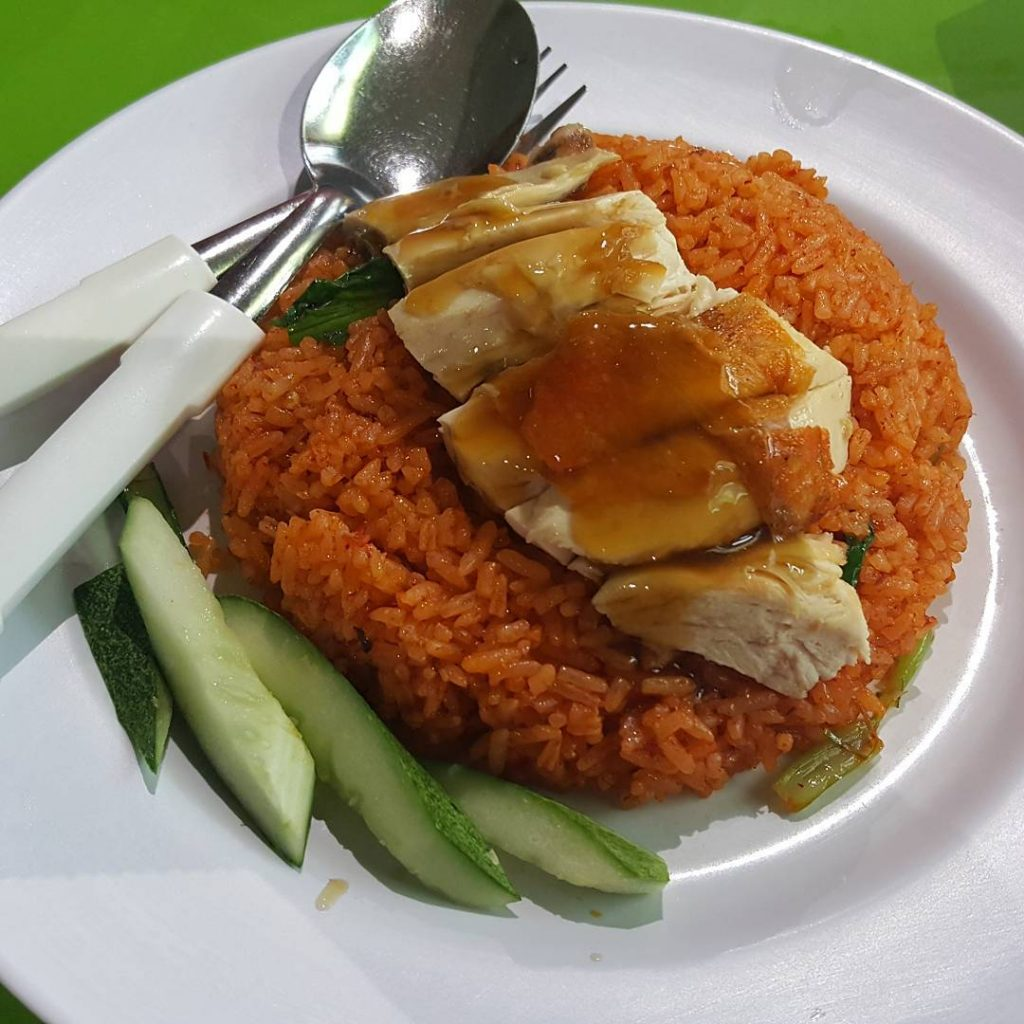 Bedok Interchange Hawker Centre botak chicken rice