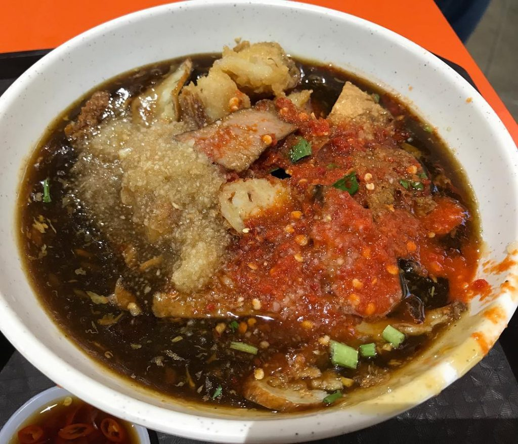 Bedok Interchange Hawker Centre lor mee