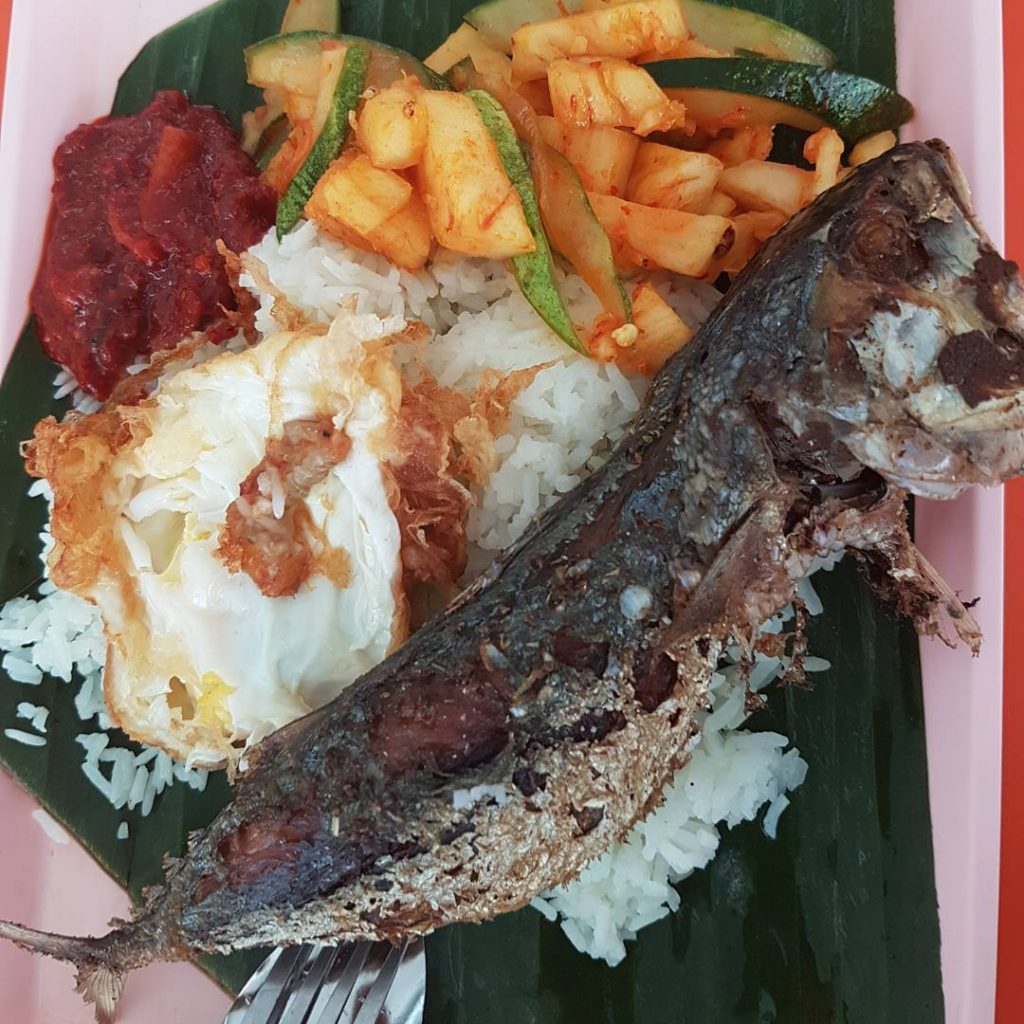Bedok Interchange Hawker Centre nasi lemak