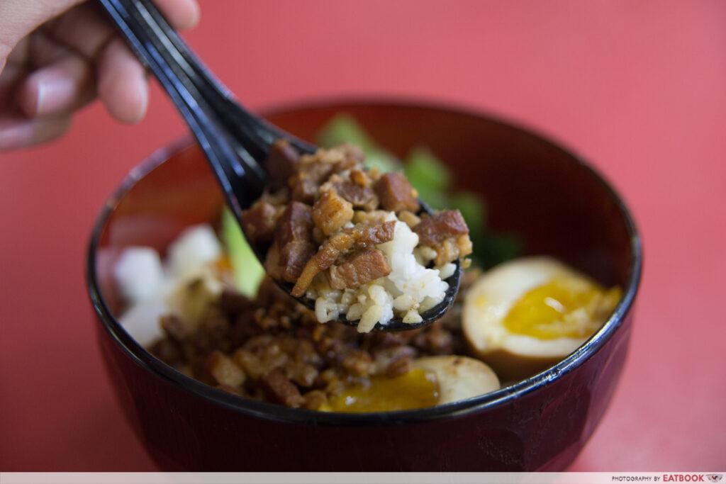 Give Me More - Braised Pork Rice Closeup
