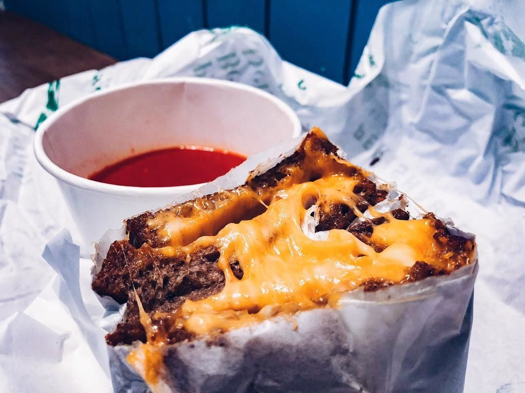 Grilled Cheese Sandwiches - Park Bench Deli