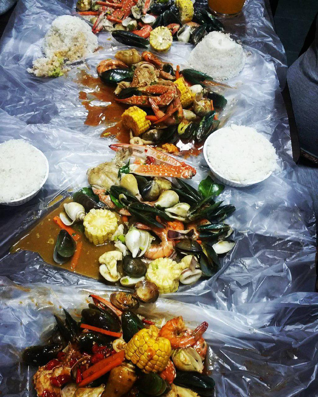 Halal Seafood Bucket - Zada