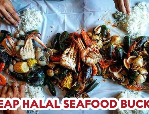 Halal seafood bucket cover image