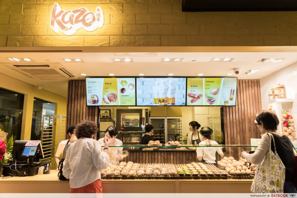 Kazo Singapore-Cream pufs (3)