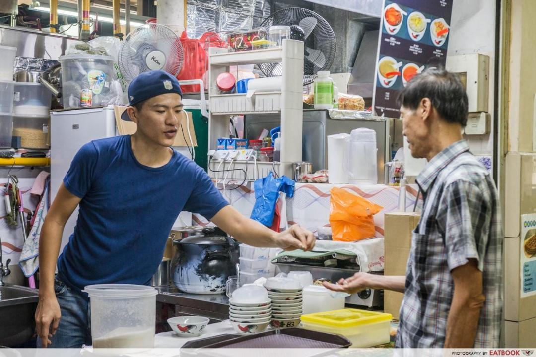 Thong Sum - tai yang customer