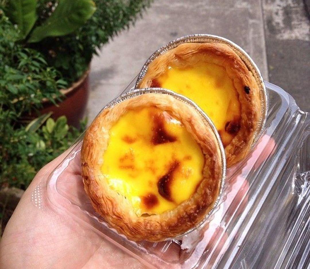 old-school egg tarts - Ng Kim Lee