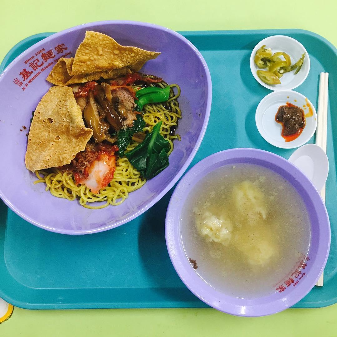 Hong Lim Food Centre - ji ji wanton mee specislist