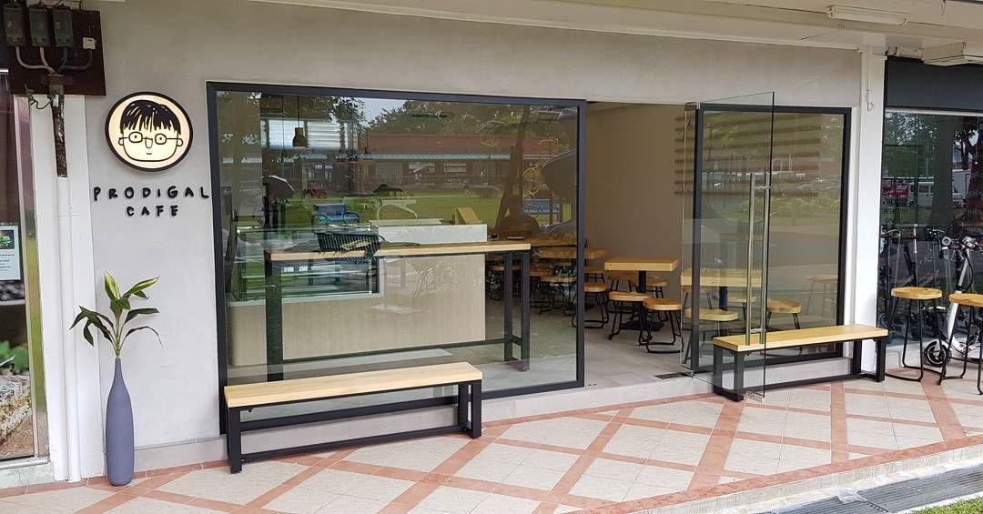 New Restaurants Mar 2018 - Prodigal Cafe Shopfront