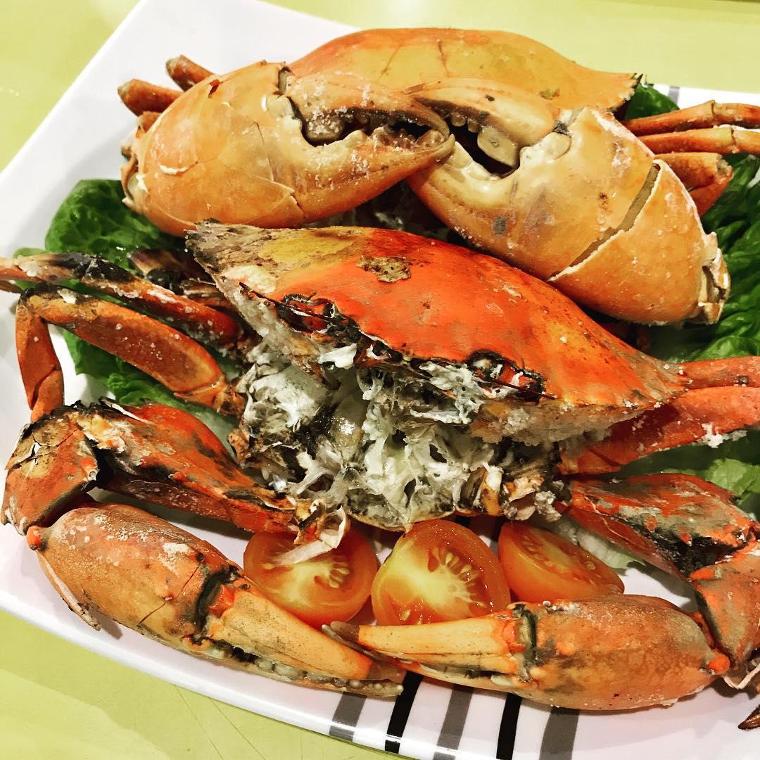 Pasir Panjang Food Centre - Meng Kee Salt Baked Crab And La La Bee Hoon