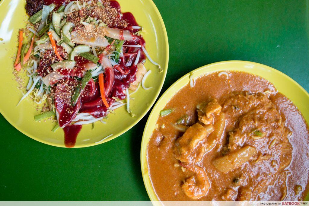 Singapore Hawker Food - Satay Bee Hoon