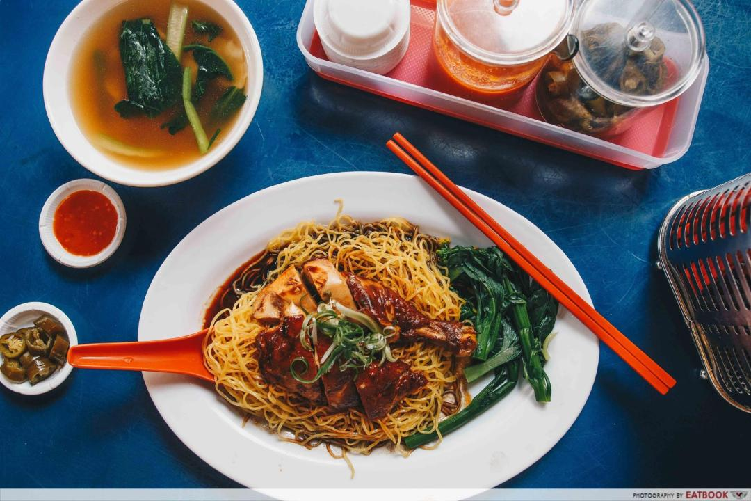 Battle of Chew Kee and Chiew Kee - Chiew Kee soya sauce chicken noodle (1)