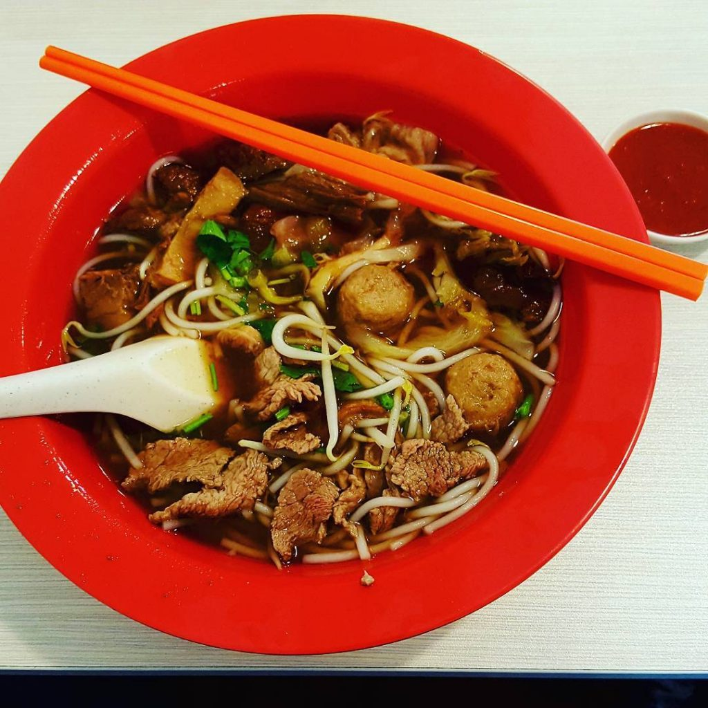 Beef Noodles Soup - Authentic Hock Lam Street Popular Beef Kway Teow
