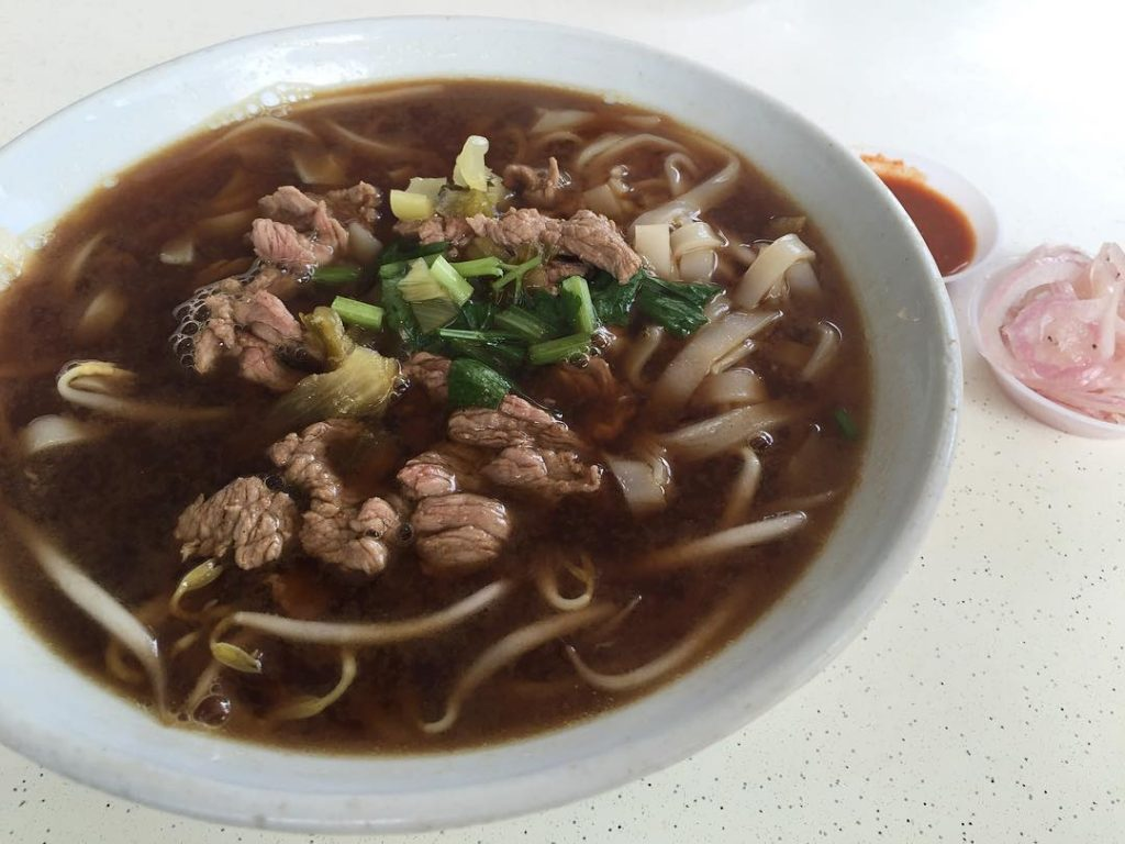 Beef Noodles Soup - Cheng Kee Beef Kway Teow