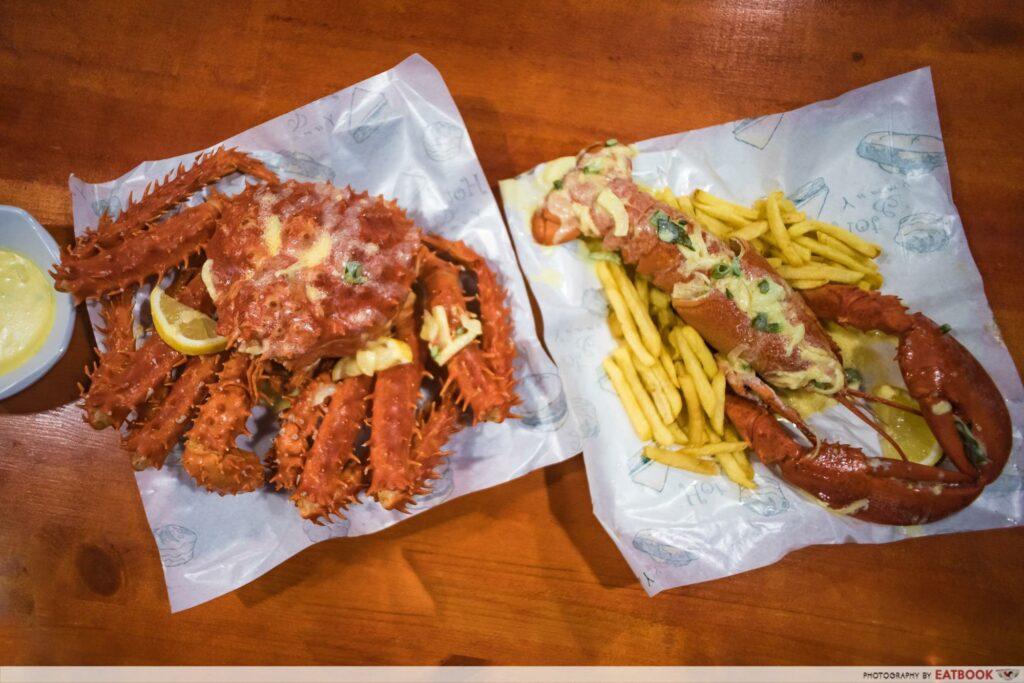 Krusty J Crab - Flatlay