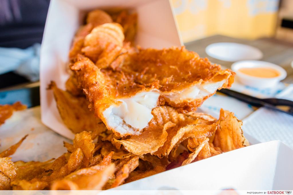 Punggol Food Big Fish Small Fish