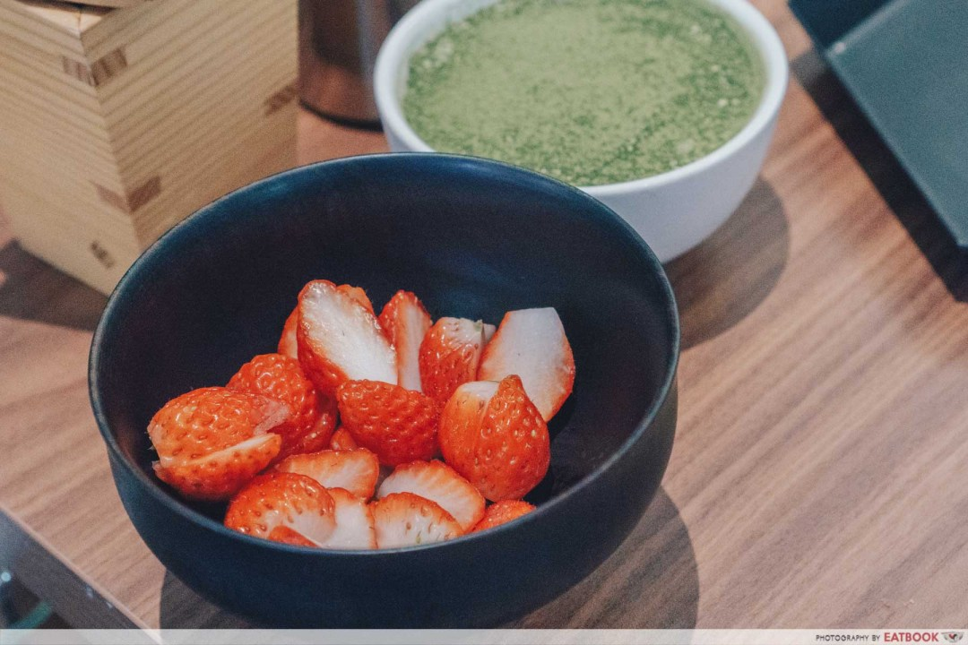 matcha dessert buffet free flow strawberry