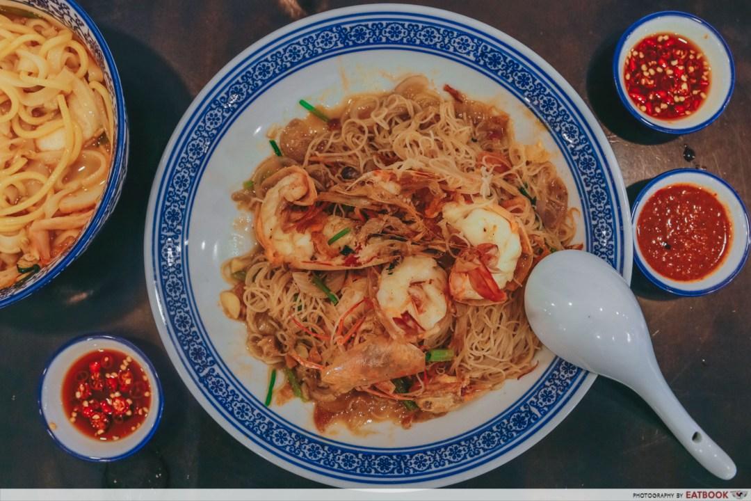 Da Shi Jia - Wok-fried Big Prawn White Bee Hoon