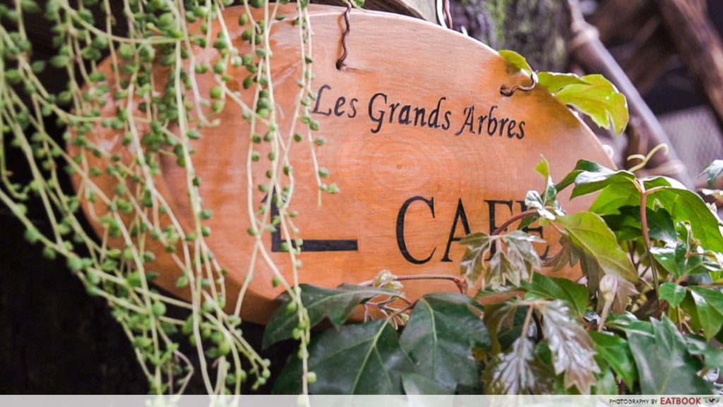 Tokyo treehouse cafe - les grands