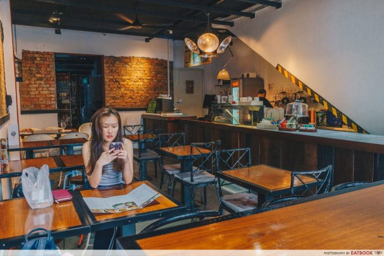 le fuse cafe ambience
