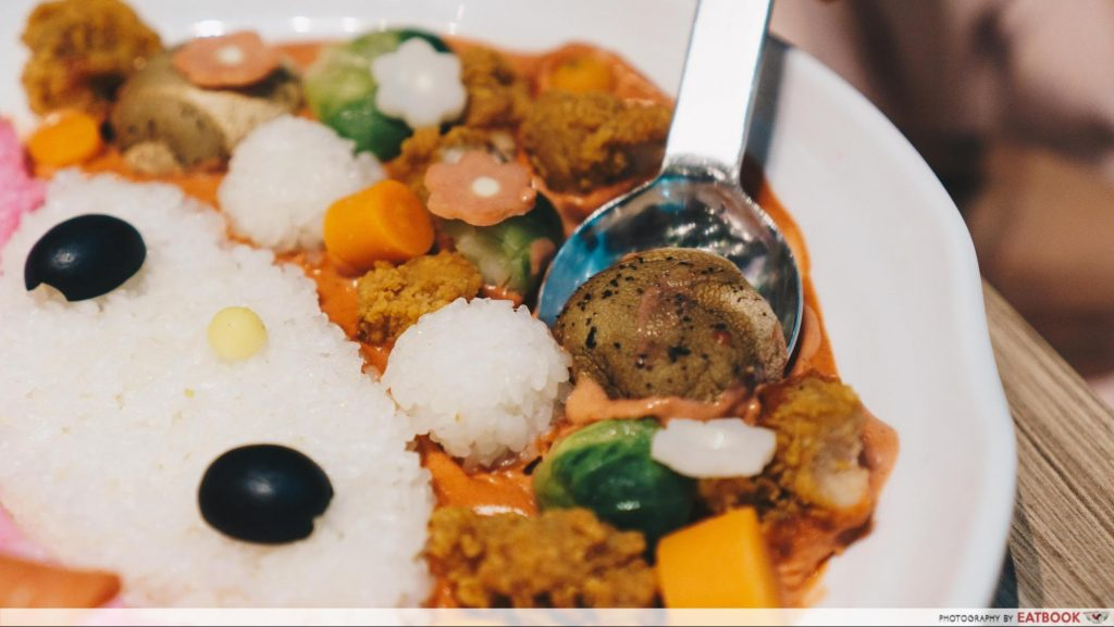 My Melody Cafe - curry
