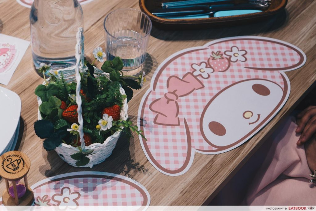 My Melody Cafe - sticker