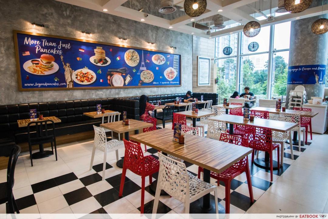 New Restaurant City Square Mall - Beyond Pancakes