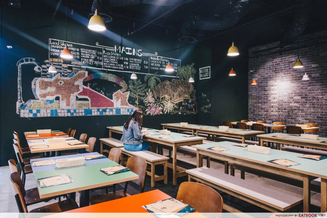 New Restaurant City Square Mall - OSD by Old School Delight