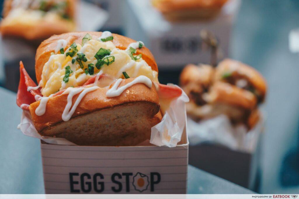 Egg Stop - scrambled egg