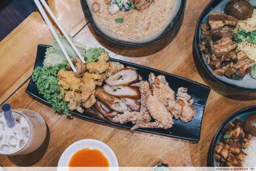 Free Dishes Maybank Eat at Taipei Street Snacks