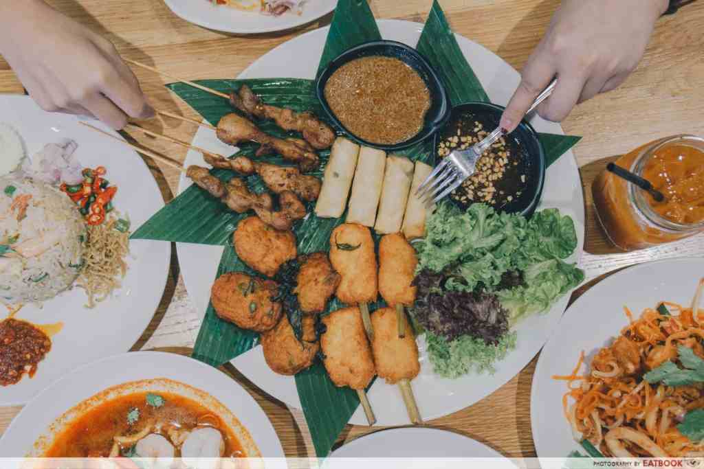 Free Dishes Maybank Siam Kitchen Appetiser Platter