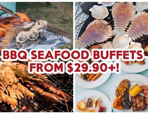 bbq seafood buffet