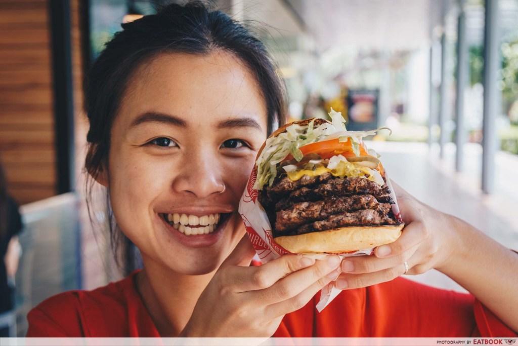 Fatburger Quad Burger