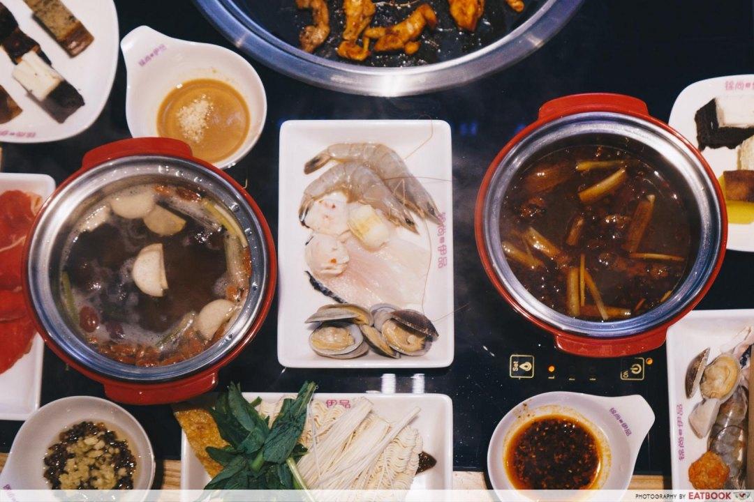 New Restaurants October Jin Shang Yi Pin Buffet Hot Pot