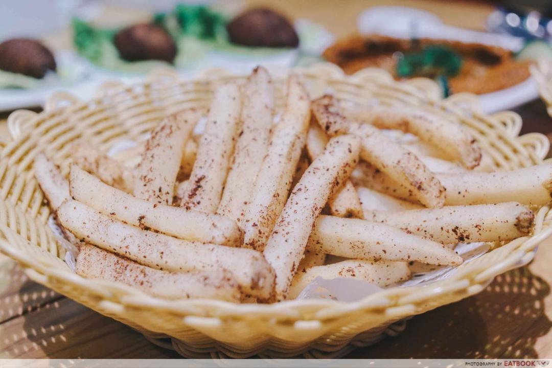 Pita Tree Tumac Fries