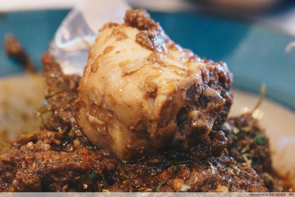 Nonya Nonya Ayam Buah Keluak Chicken