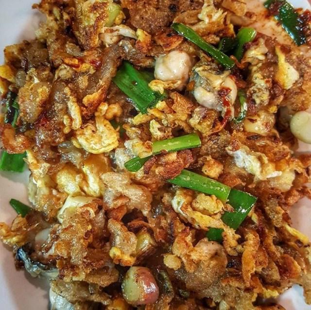 Oyster Omelette Ah Hock