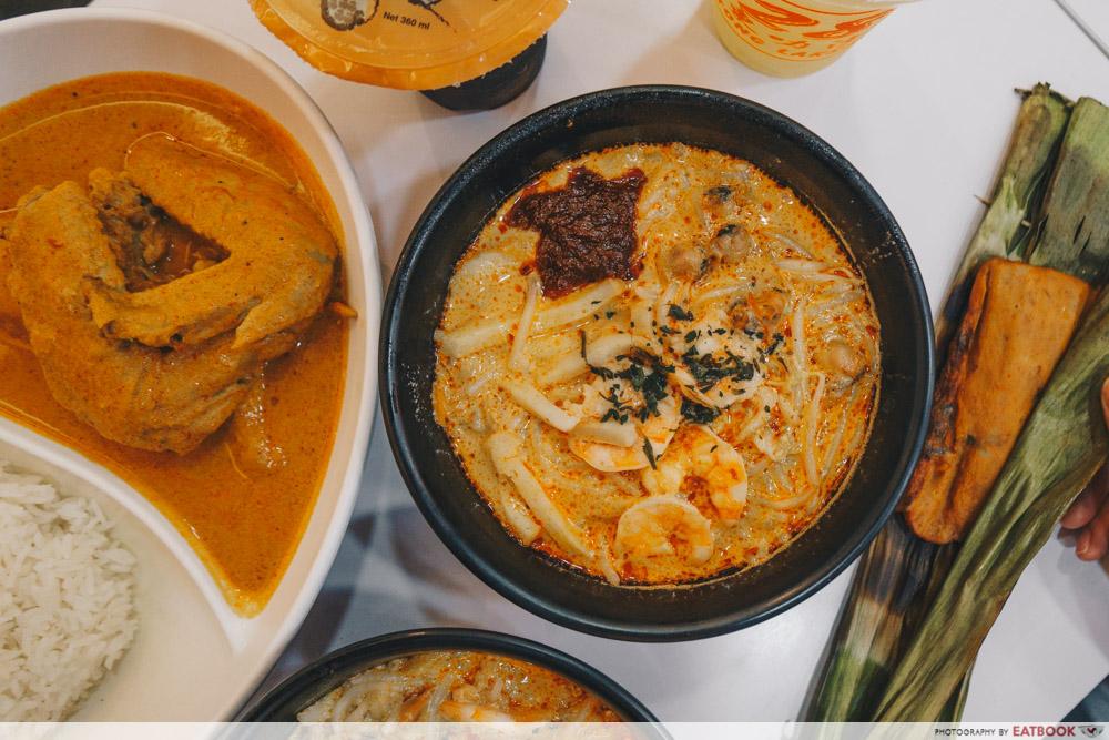 Famous Local Food Stores - Katong Laksa Flatlay
