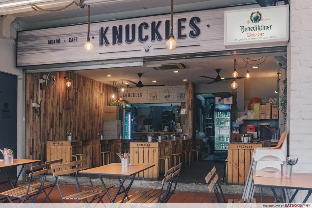 Knuckles Bistro - Storefront
