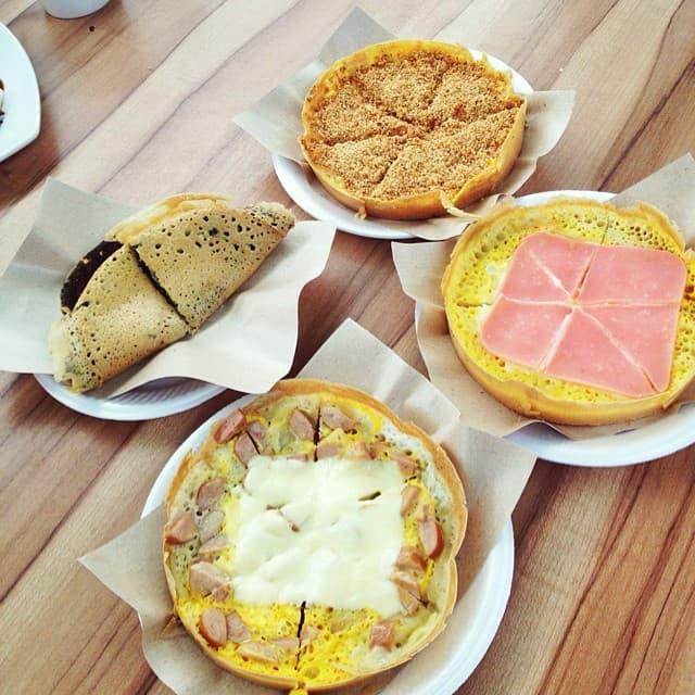 Simei Food Places Jiaxiang Pancake