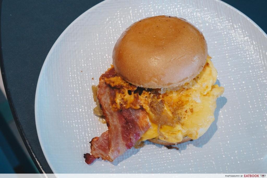 Clan Cafe Scranbled Egg Brioche