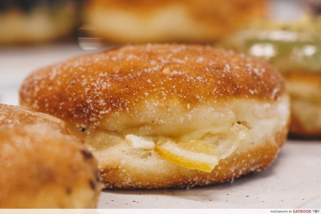 Doughnut Shack - Lemon Cheese Doughnut