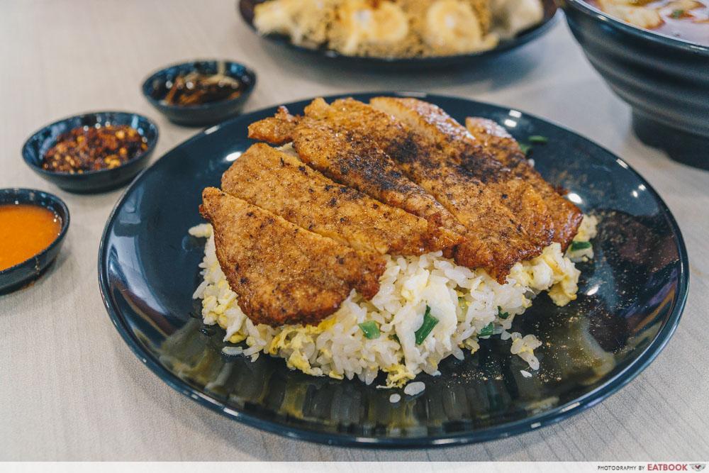 Hao Lai Ke - Pork Ribs Fried Rice