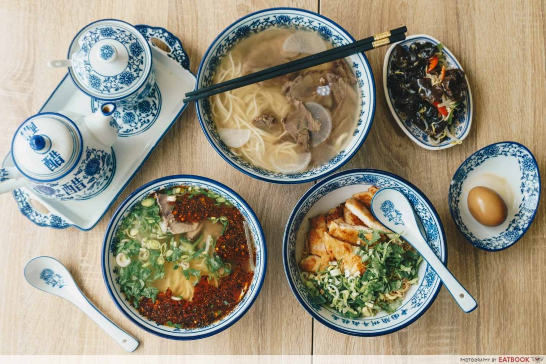 New restaurants in December Tongue Tip Lanzhou Beef Noodles Spread