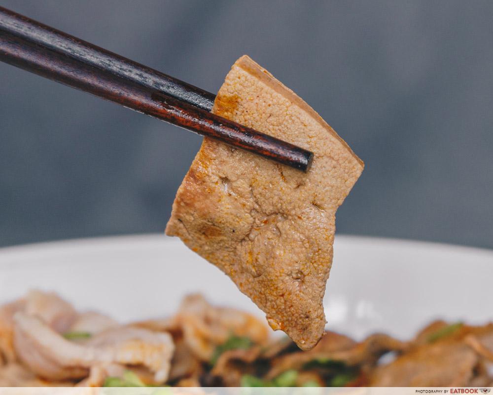The Thai Society Ma La Boat Noodles pork liver