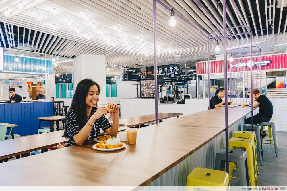 KINEX FOOD HALL Interior