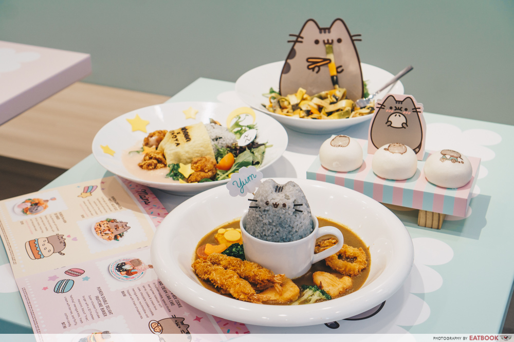 Pusheen Cafe - Menu