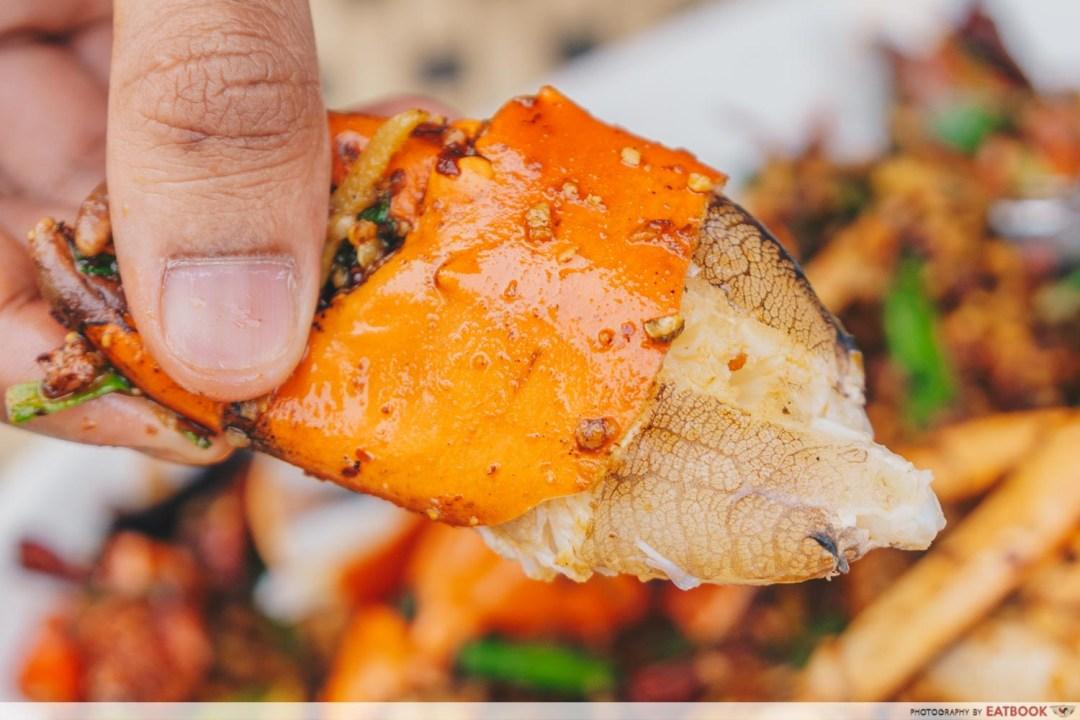 Yassin Kampung - Sichuan Mala Fried Crab Meat